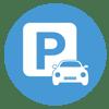 Free parking onsite