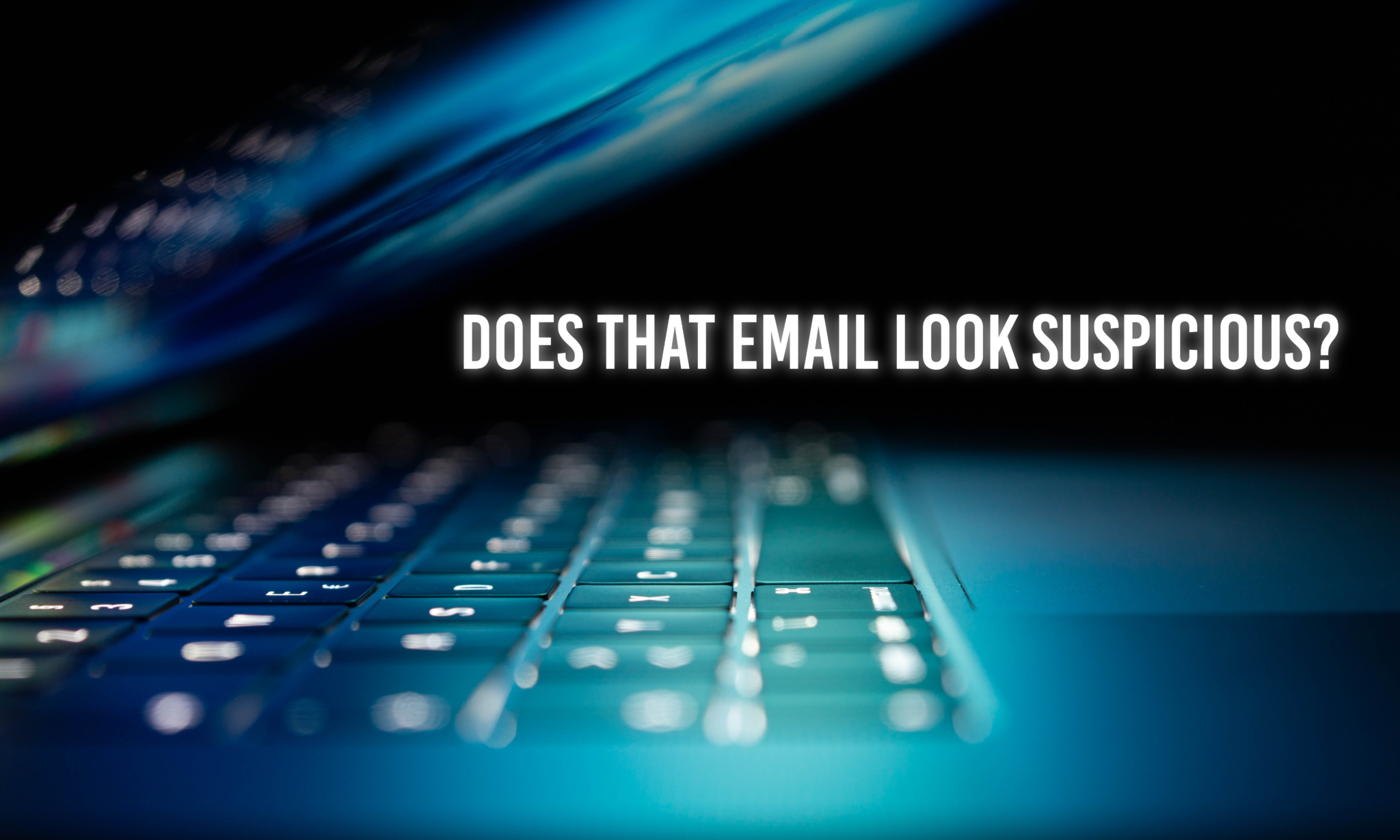 Does the email look suspicious?